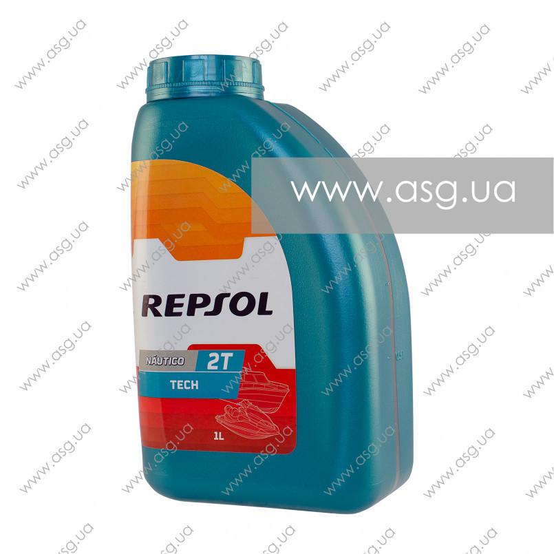 Моторное масло REPSOL NAUTICO TECH 2T 1л