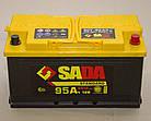 Автомобильный аккумулятор SADA Standard 6СТ-95 (-/+)Евро сада стандард,12В, 95Ач, 850А, фото 2