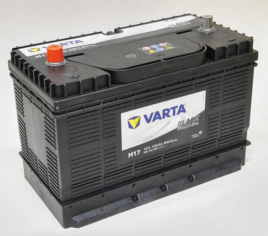 Аккумулятор 105Aз VARTA Promotive Black 605 102 080 H17 CENTR варта