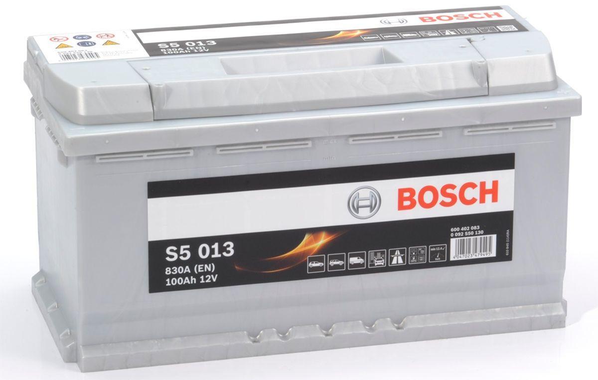 Автомобильный аккумулятор Bosch S5 013 6СТ-100Ah АзЕ 830A R + Чехия