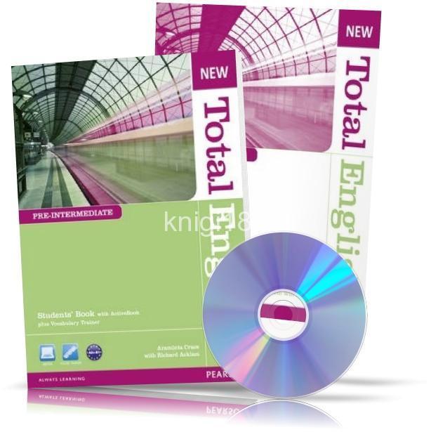 New Total English Pre-Intermediate, Student's book + Workbook + CD / Учебник + Тетрадь английского языка