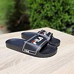 Жіночі літні шльопанці FILA (чорні) 50004, фото 5
