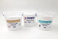 Сульфаминовая кислота 1кг, Пиросульфит Натрия 1кг, Бура 1кг набор в ведерках