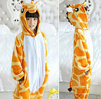 Детская пижама Кигуруми Жираф 130 (на рост 128-138см)