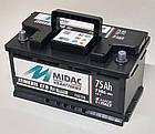 Аккумулятор 6СТ-75A MIDAC ITINERIS EFB START STOP низкий, 12V, 75Ah, R Мидак Итинерис, 12В, 75Ач, EN730А, фото 3