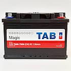 Аккумулятор  автомобильный AB MAGIC 6СТ-78Aч 12V EN750А Словения 2 года гарантии, фото 2
