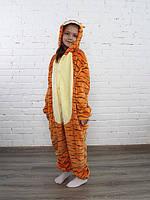 Детская пижама Кигуруми Тигр 130 (на рост 128-138см)