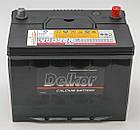 Аккумулятор Delkor 90D26R (6СТ-80 Азия)  L+ левый плюс, фото 2