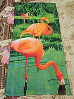 """Полотенце пляжное """"Фламинго"""""""