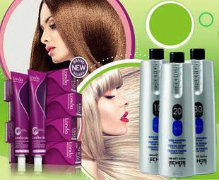 Профессиональные краски, корректоры и окислители для волос
