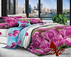 Полуторныйкомплект постельного белья с 3D эффектом XHYB11