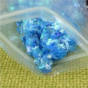 Битое стекло голубое для слаймов (50551)