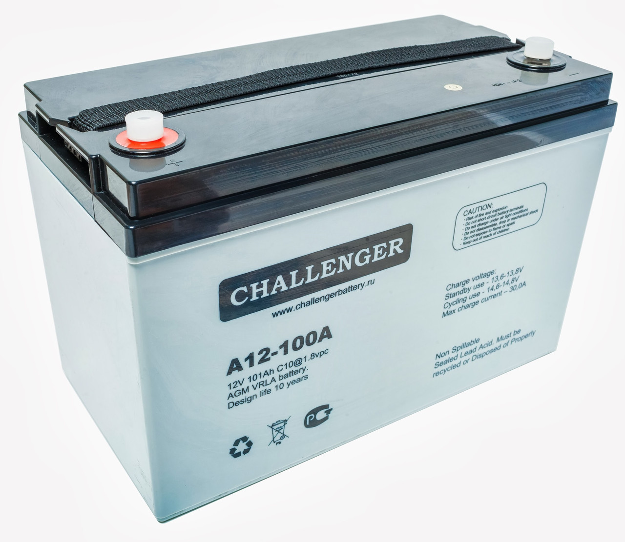 Аккумуляторная батарея Challenger А12-100, 12В, 100Ач