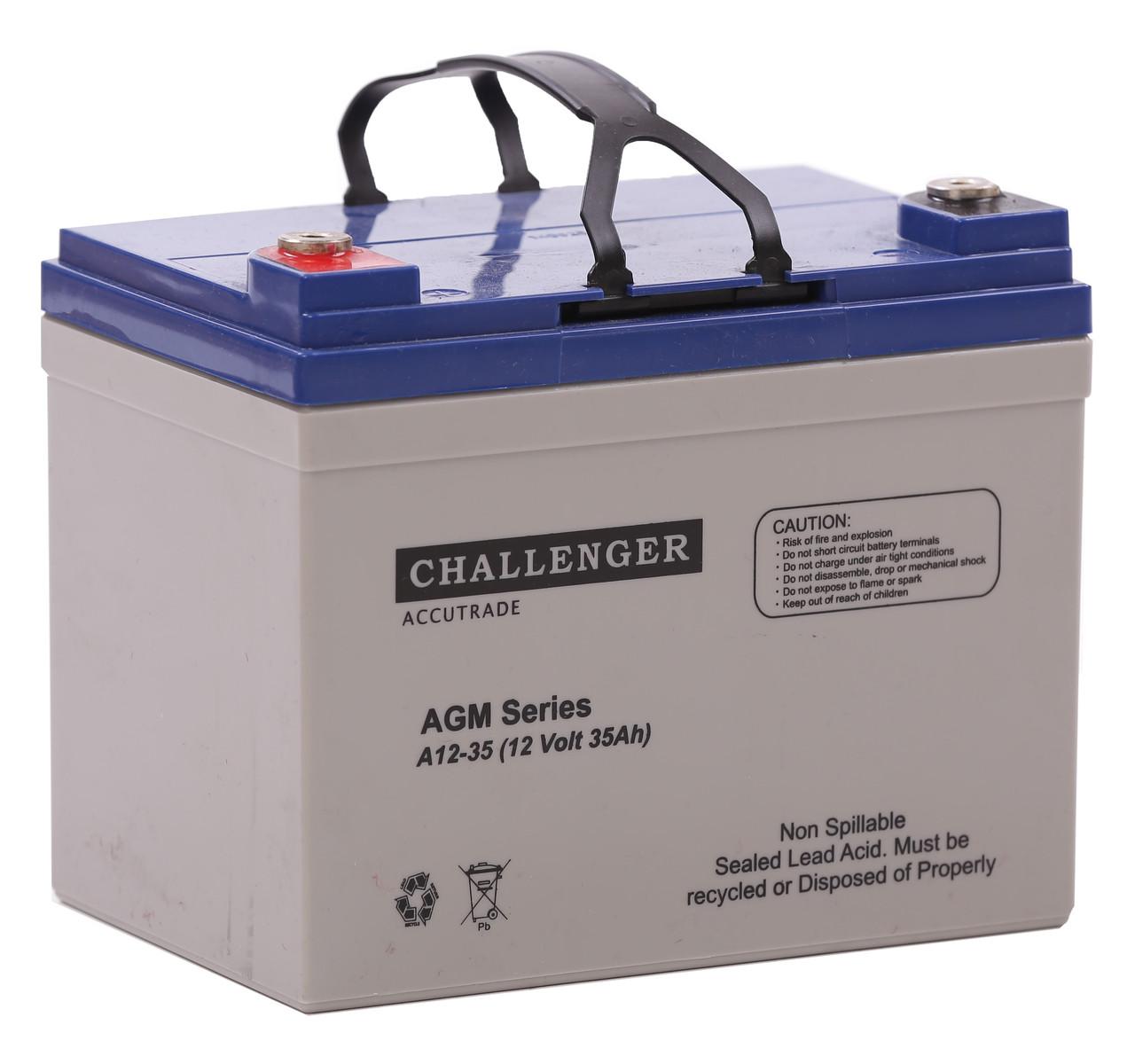 Аккумуляторная батарея Challenger А12-33, 12В, 33Ач