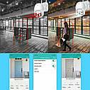 3 Мп уличная поворотная IP WiFi камера Besder BES-A8-3MP 1536P Onvif. iCSee, фото 5