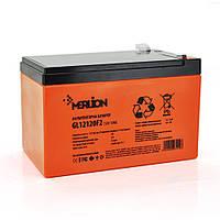 Аккумуляторная батарея MERLION GL12120F2 12 V 12Ah ( 150 x 98 x 95 (100) Orange гелевая