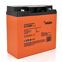 Аккумуляторная батарея MERLION GL1220M5 12 V 20Ah (180 x 78 x 165 (168) Orange гелевая