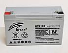 Батарея аккумуляторная RITAR RT6120, 6В, 12Ач, фото 2
