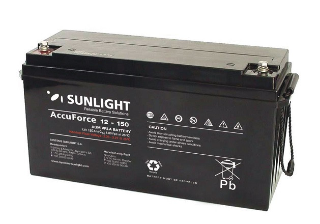 Батарея аккумуляторная SUNLIGHT AccuForce 12 - 150