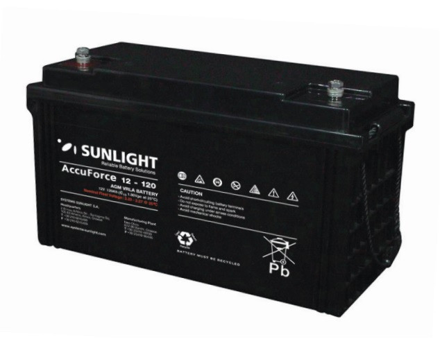 Батарея аккумуляторная SUNLIGHT SP 12 - 120