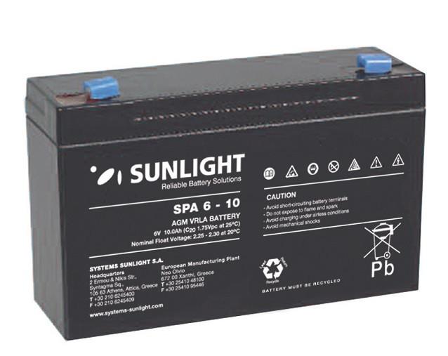 Батарея аккумуляторная SUNLIGHT SP 6 - 10