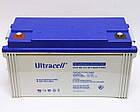 Батарея аккумуляторная Ultracell UCG120-12, 12В, 120Ач, GEL, фото 4
