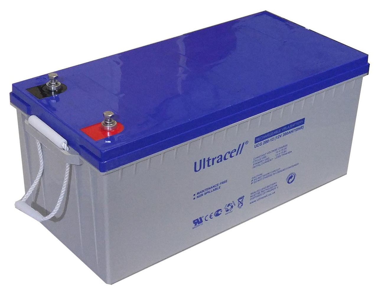 Батарея аккумуляторная Ultracell UCG200-12, 12В, 200Ач, GEL