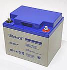 Батарея аккумуляторная Ultracell UCG45-12, 12В, 45Ач, GEL, фото 2
