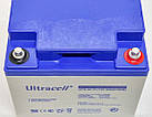 Батарея аккумуляторная Ultracell UCG45-12, 12В, 45Ач, GEL, фото 3
