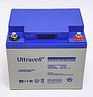 Батарея аккумуляторная Ultracell UCG45-12, 12В, 45Ач, GEL, фото 5