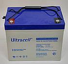Батарея аккумуляторная Ultracell UCG75-12, 12В, 75Ач, GEL, фото 2