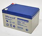 Батарея аккумуляторная Ultracell UL12-12, 12В, 12Ач, AGM, фото 2