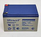 Батарея аккумуляторная Ultracell UL12-12, 12В, 12Ач, AGM, фото 4