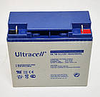 Батарея аккумуляторная Ultracell UL18-12, 12В, 18Ач, AGM, фото 4