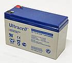 Батарея аккумуляторная Ultracell UL7.2-12, 12В, 7,2Ач, AGM, фото 3