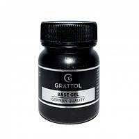 GRATTOL  IQ Rubber Base Gel - БАЗА гипоаллергенная, 50 ml
