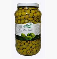 Итальянские оливки без косточки фаршированные перцем LA CERIGNOLA 2,9кг