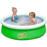 Надувной бассейн Bestway 57241, 152 х 38 см, зелёный