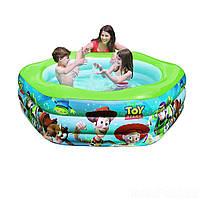 Детский надувной бассейн Intex 57490 «История игрушек» 191 х 178 х 61 см