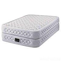 Надувная кровать Intex 64464, 152 х 203 х 51 , встроенный электронасос. Двухспальная