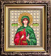 """Набор для вышивки бисером Чарівна Мить Б-1123 """"Икона святая мученица Антонина"""""""