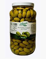 Итальянские оливки с косточкой мелкие LA CERIGNOLA 2,9кг