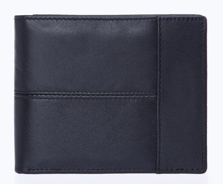 Бумажник горизонтальный Vintage 20040 Черный