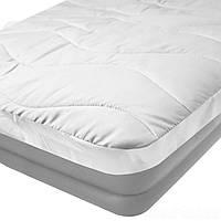 Наматрасник (чехол-простынь) IntexPool 69641, для надувной кровати одноместных 90 х 200 х 30, белый
