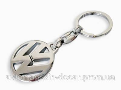 Брелок для ключей  VW  металл/хром