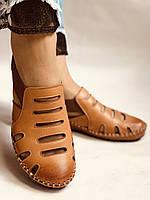 Супер комфорт! Очень удобные!  Женские кожаные босоножки .Размер 36.38.Турция.Магазин Vellena, фото 6