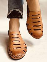 Супер комфорт! Очень удобные!  Женские кожаные босоножки .Размер 36.38.Турция.Магазин Vellena, фото 8