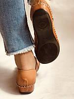 Супер комфорт! Очень удобные!  Женские кожаные босоножки .Размер 36.38.Турция.Магазин Vellena, фото 9