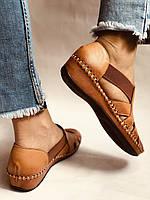 Супер комфорт! Очень удобные!  Женские кожаные босоножки .Размер 36.38.Турция.Магазин Vellena, фото 4