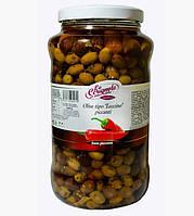 Итальянские оливки с косточкой острые LA CERIGNOLA 2.9кг